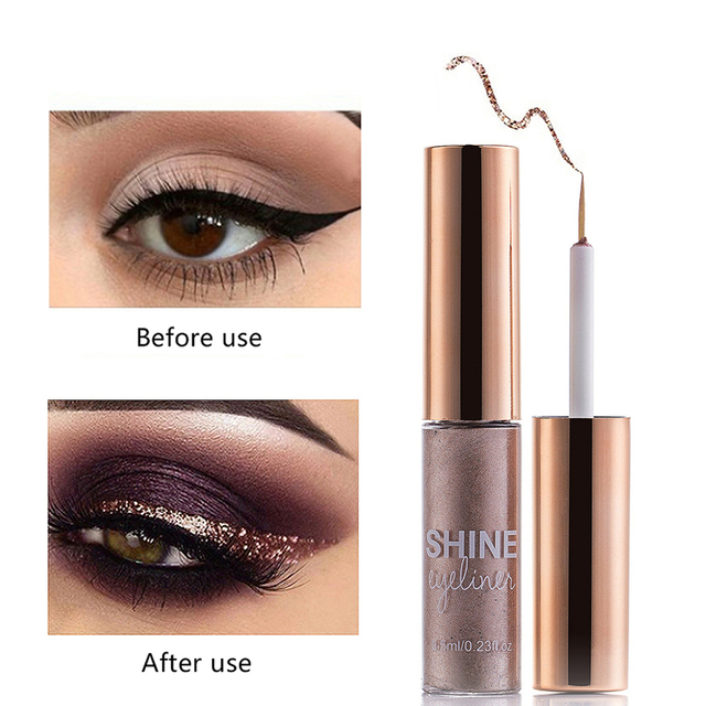 Matte Liquid Eyeliner Bright Color Waterproof Eye Liner Pencil Long-Lasting White Eye Liner Pen Eyes Makeup 1