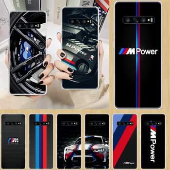 Sports car luxury BMW Phone Case cover hull For SamSung Galaxy S M 6 7 8 9 10 20 30 31 Edge Plus E Lite transparent cell cover image