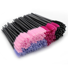 50pcs/lot Disposable Cosmetic Brush Makeup Tools Brushes Mascara Wands Applicator Micro Eyelash For Extension