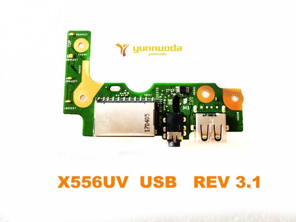 Original for ASUS X556UV USB board Audio board X556UV USB REV 3.1 tested good free shipping