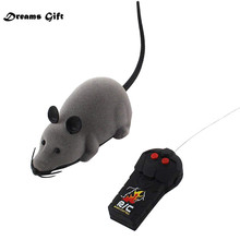 Hot RC Funny Wireless Electronic Remote Control Mouse Rat Pet Toy for K