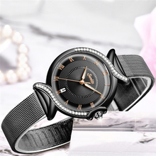 Luxury Fashion Stainless Steel Ladies Wrist Watches