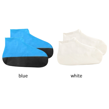 1 Pair Reusable Silicone Shoe Cover Waterproof Rain Shoes Covers Outdoor Camping Slip-resistant Rubber Rain Boot Overshoes New 1 pair reusable silicone shoe cover waterproof rain shoes covers outdoor camping slip resistant rubber rain boot overshoes new