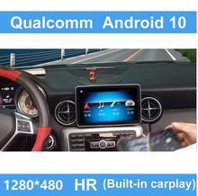 "9 ""Qualcomm אנדרואיד 10 רכב נגד בוהק מסך GPS ניווט עבור בנץ SLK CLass 2011 2015 4G LTE Wifi BT R172"