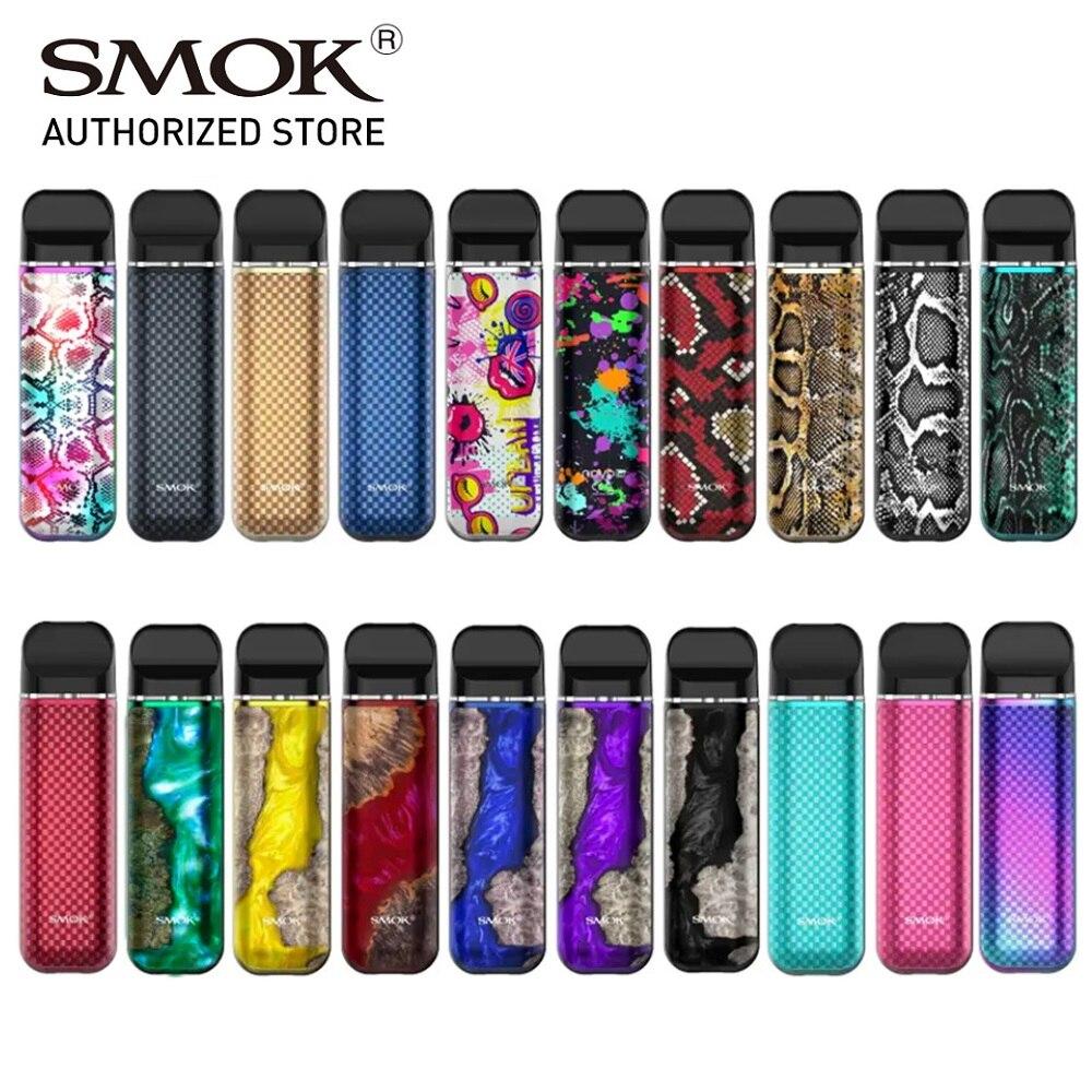 New Colors Original Smok Novo 2 Vape Pod Kit 6-25W 800mAh Battery Mesh 2ML Cartridge Pod Starter Kit 1.0ohm DC MTL Vs SMOK NORD