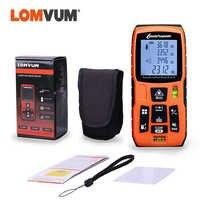 LOMVUM 40M 60M 80M télémètre Laser numérique niveau bulles télémètre Laser à piles
