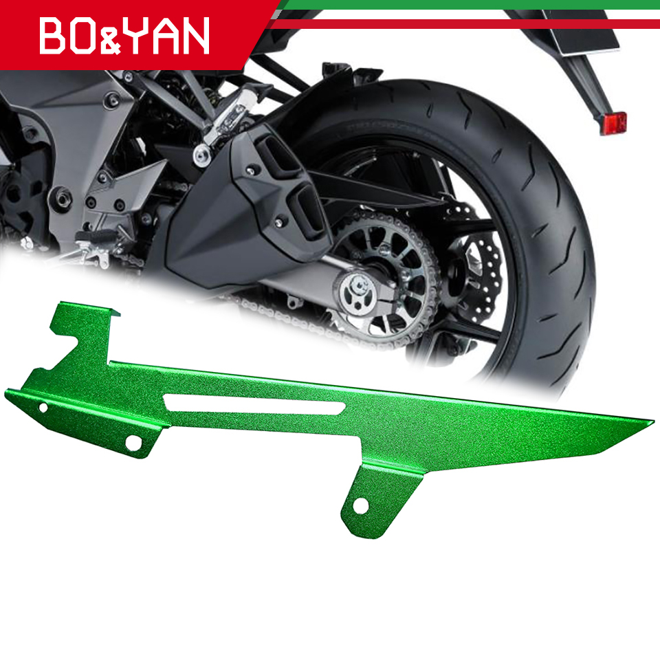 For Kawasaki Z1000 <font><b>Z1000SX</b></font> Ninja1000 <font><b>2011</b></font> 2012 2013 2014 2015 2016 Motorcycle Chain cover trim panel protective cover image