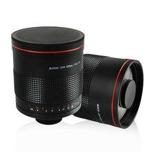 900mm f/8.0 super espelho, telephoto lente de foco manual + t2 montagem anel adaptador para canon, nikon, pentax câmera sony olympus dslr