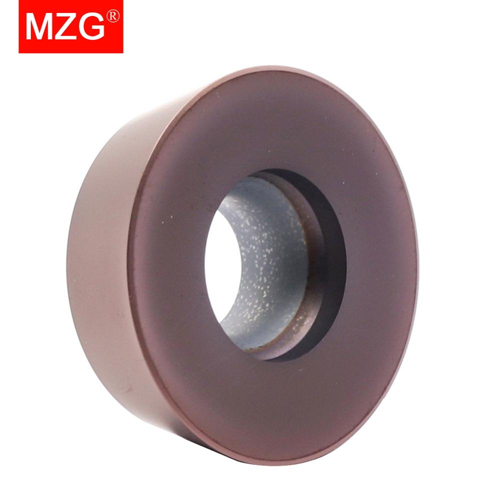 Купить с кэшбэком MZG 10PCS Milling Machining RPMW 1204 zp 1521  Carbide Turning TRSM Mill Cutter Inserts for Steel Processing Toolholders