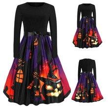 Vestidos женское летнее винтажное платье одежда музыкальный халат в цветочек ретро качели повседневные 50S 60S Хэллоуин Платья вечерние FC
