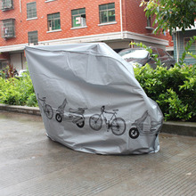 Bicycle cover multi-color bicycle ash electric car motorcycle rain dust-proof riding accessories