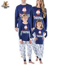 Nightwear Family Matching Pyjamas Clothes-Suit Sleepwear Christmas-Pajamas-Set Kids Adult