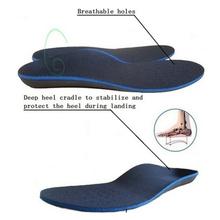 Wysokiej jakości płaskostopie ortopedyczne wkładki do butów podeszwy wkładki sklepienie łukowe korektor mężczyźni kobiety wkładka do buta Eva sportowe wkładki tanie tanio GAOKE CN (pochodzenie) 3 cm-5 cm Średnie (b m) 873252 Stałe Wytrzymałe Insole Hard Bottom Eva Sports Shoes Integral Shoe Pad