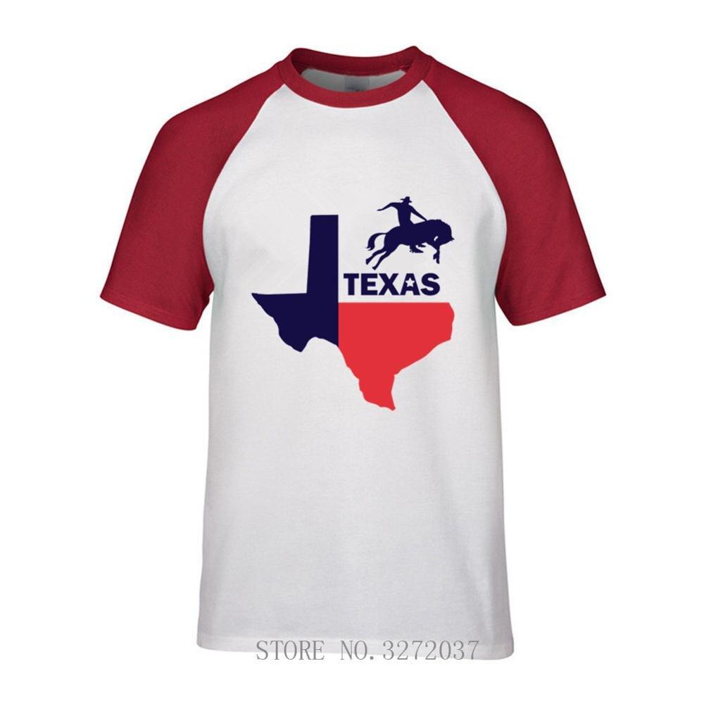 Texas State футболка Америка Texas State Silhouette напечатаны мужские хип-хоп футболки повседневные брендовые хлопковые молодых мужские футболки