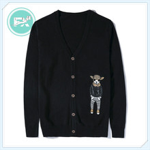 G. SKY 2020 New Style MEN'S Knitwear Men Thin Fashion Youth V-neck Embroidered Sweater Coat