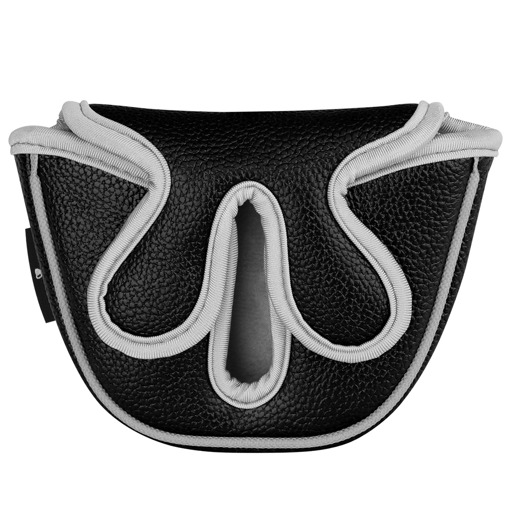 New Golf Putter Cover Mallet Fit for Odessey Backstryke Center Shaft Putter Free Shipping Golf Headcover PU Leather