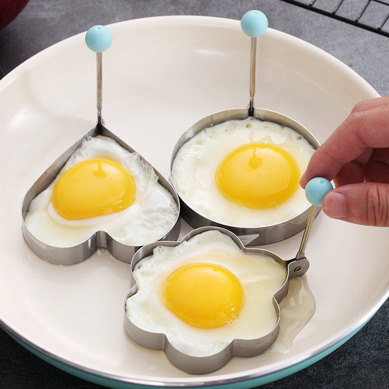 Купить форма для жареных яиц из нержавеющей стали модель креативное