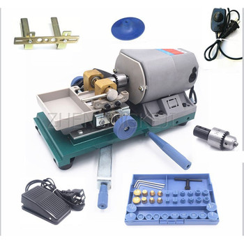 Buddha Beads Punching Machine Multifunctional Drilling Machine 220V/450W Amber Beeswax Wooden Beads Pearl Turquoise Punch Tools home small diy jade beeswax buddha beads hole puncher drilling machine hole punch electric high power pearl punching tools