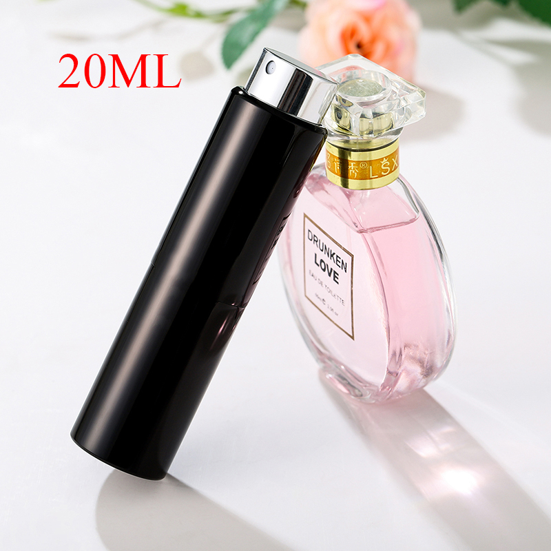 8ml15ml20ml Metal Aluminum Perfume Bottle Cosmetic Spray Bottle Portable Refillable Empty Bottle Travel Sub-bottle Liner Glass