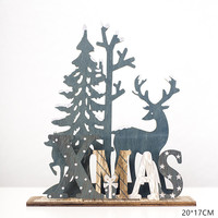 Xmas Elk Tree