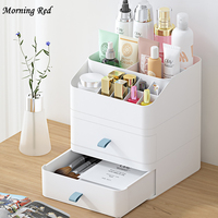 Cosmetic Storage Box Multi Layer Desktop Cosmetic Case Toner Eye Cream Mask Makeup Organizer Lipstick Rack For Dressing Table