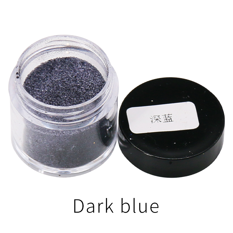 Dark Blue Color Fabric Dye Pigment Dye For Clothing Dyestuff Renovation In Cotton Feather Bamboo Acrylic Paint Powder 10g/bottle