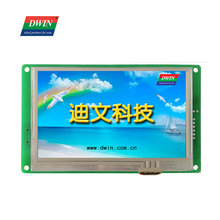 DWIN 5 Inch Tft LCD Module 480*272 Commercial Grade HMI Touch Screen and Smart Display Panel Intelligent LCM DMT48270C050_06W