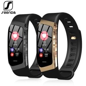 Image 1 - SeenDa E18 Smart Watch Sports Men Wristwatch Fitness Tracker Smart Watch  For Android And IOS Phone Bluetooth Women Smart Watch