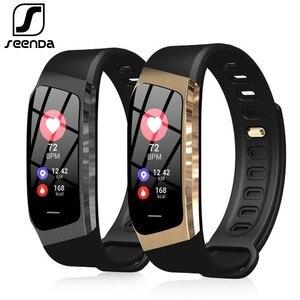 Image 1 - Seenda E18 スマート腕時計スポーツメンズ腕時計フィットネストラッカースマート時計のandroidとios電話bluetoothの女性のスマートウォッチ