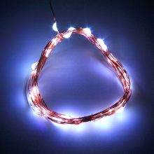 3M 30LED Koperdraad Xmas Party String Fairy Light Battery Operated Wedding Prachtige Decoratie Licht Voor Outdoor(China)