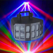 RGBW 4IN1 Beam Effect Stage Lighting,50W Professional KTV Bar Club Home Party DMX LED Double Butterfly Light ,DJ Disco Lighting(China)