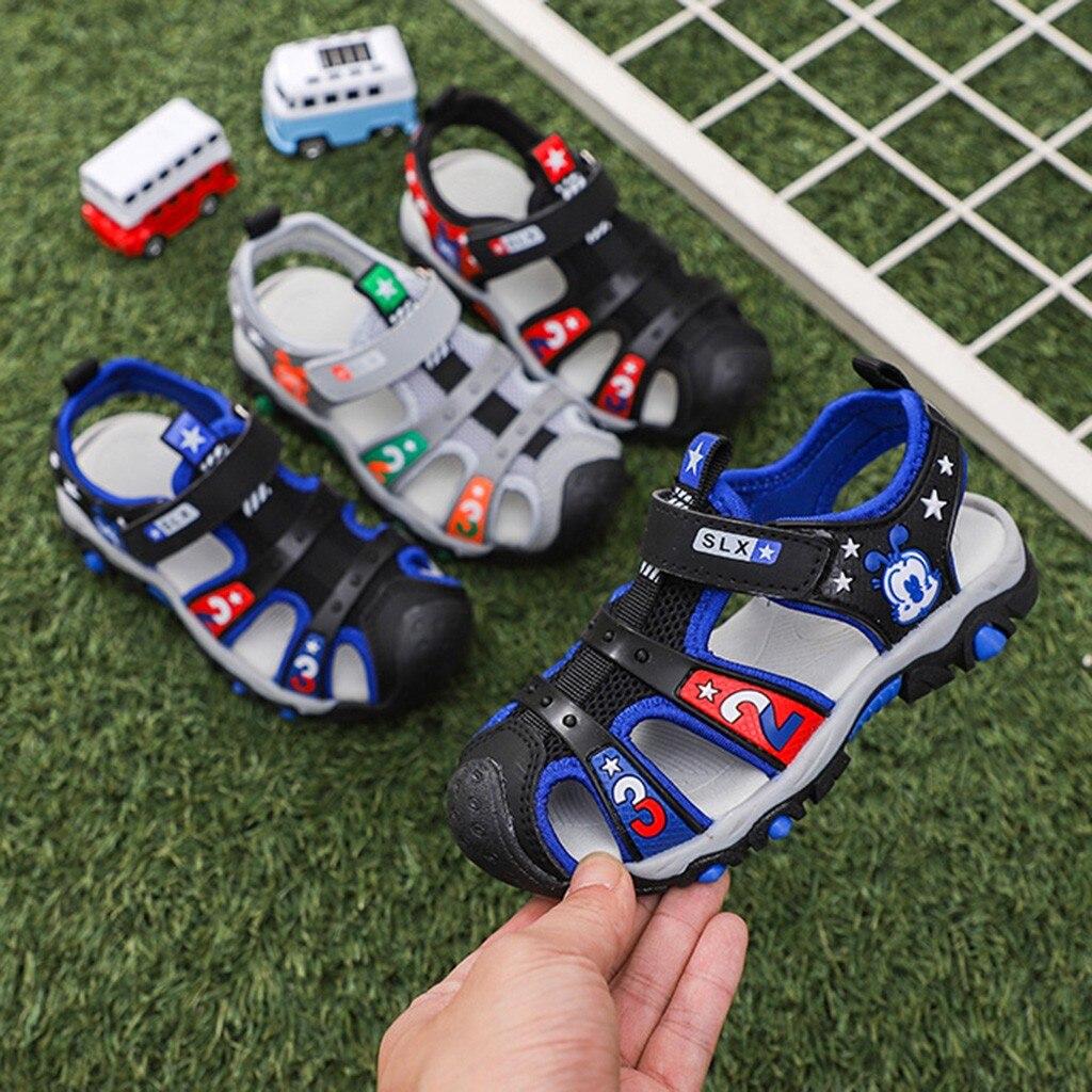 Kids Sandals Children Kids Baby Boys Cartoon Star Beach Sport Sneakers Shoes Sandale Garcon Enfant Casual Baby Boy Sandals