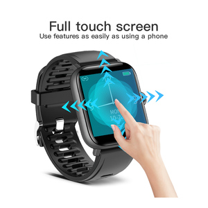 Image 2 - RUNDOING NY16 Full Touch screen smart watch with Aluminum alloy Case IP68 waterproof smartwatch For Android and IOS