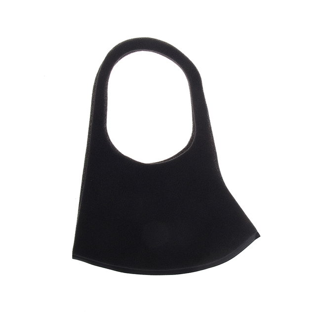 Mouth Mask Cotton Cute PM2.5 Anti Haze Black Dust Mask Nose Filter Windproof Face Muffle Flu Fabric Cloth Respirator 2