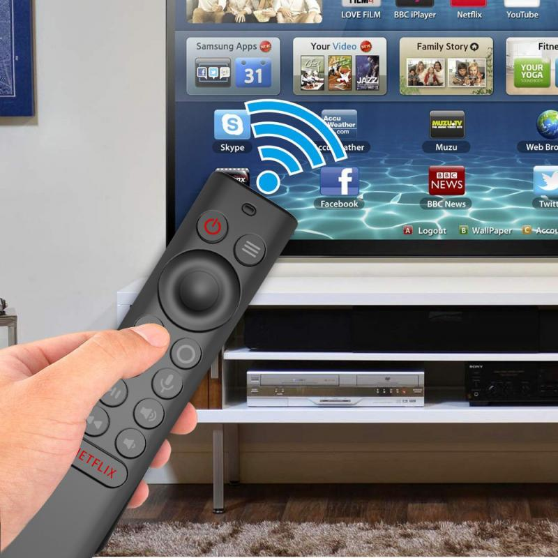 Home Tv Fernbedienung Fall Abdeckung Für Nvidia Schild Tv Pro / 4K Hdr Silikon Anti-Fallen Anti-Slip Abdeckung Haut Shell TXTB1