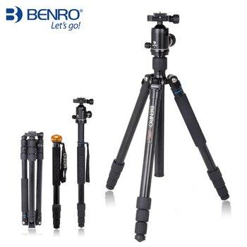 Benro A2682TV2 Tripod Aluminum Tripod Kit Monopod For Camera With V2 Ball Head Carrying Bag Max Loading 18kg DHL Free Shipping