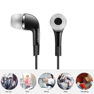 Image 2 - SAMSUNG Original écouteur EHS64 filaire 3.5mm dans loreille avec Microphone pour Samsung Galaxy S8 S8Edge Support smartphone