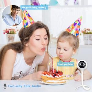 Image 3 - Wdskivi minicámara IP inalámbrica WiFi, WiFi, vigilancia de seguridad, aplicación cloudge, Monitor para bebés, detección de temperatura y humedad, 1080P
