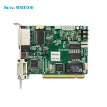 Nova MSD300 linvio di carta di colore completo ha condotto il regolatore schermo Sincrono led Video Wapp Pannello di carta di invio