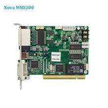 Nova MSD300 отправляющая карта, полноцветный светодиодный контроллер экрана, синхронная светодиодная видеопанель Wapp, отправляющая карта