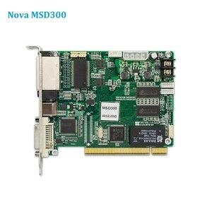 Image 1 - Nova MSD300 отправляющая карта, полноцветный светодиодный контроллер экрана, синхронная светодиодная видеопанель Wapp, отправляющая карта