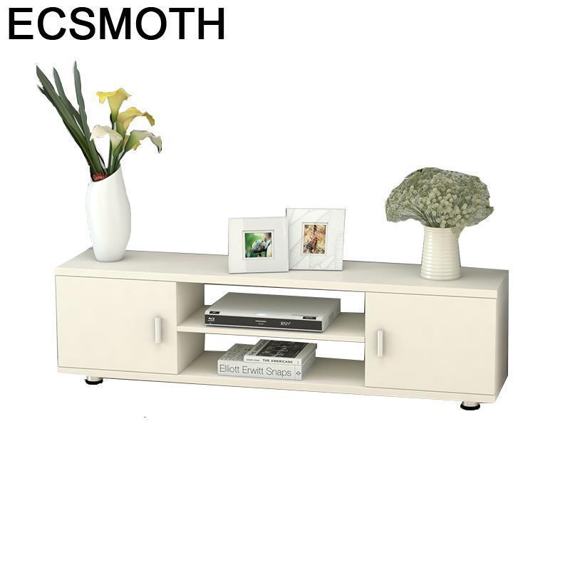 Support Ecran Ordinateur Bureau Meubel Entertainment Center Wooden Table Monitor Stand Mueble Living Room Furniture Tv Cabinet