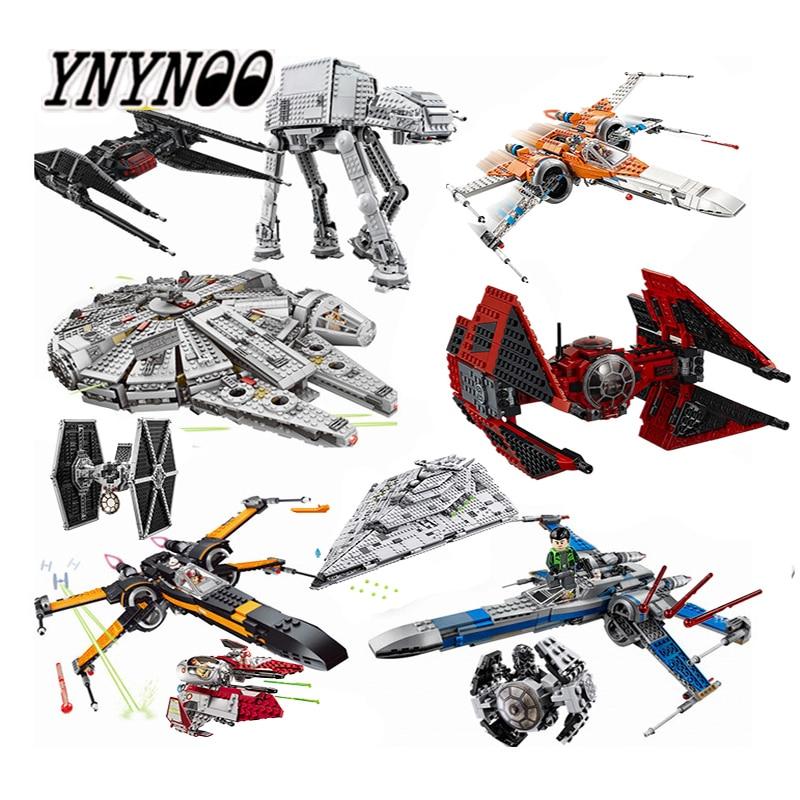 Nuevo destructor de pozos Rancor de Star Wars Costruzion Tauntaun, juguetes de bloques de construcción compatibles con lepining