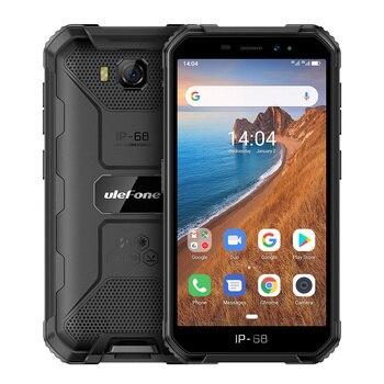 Купить Ulefone Armor X6 водонепроницаемый телефон, IP68/IP69K, MT6580, Android 9,0, распознавание лица, разблокировка, 4000 мач, 8 мп, 2 гб, 16 гб пзу, 3G, глобальная версия