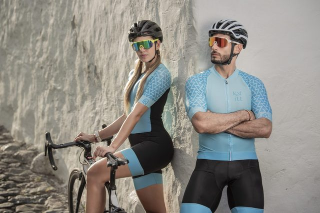 2020 pro kafitt triathlon terno feminino preto camisa de ciclismo skinsuit maillot ciclismo ropa conjunto manga longa 9d 6