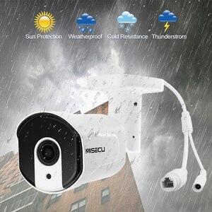 Image 4 - Miecu cámara IP H.265 de 4MP con Zoom óptico automático, conjunto de 2,8mm 12mm, Led IR nocturna, para exteriores, Metal, antivandal, videovigilancia