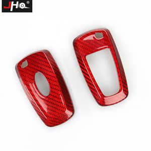 Image 5 - JHO REAL Carbon Remote Key Fob Shell Case Key Cover For Ford Explorer 2016 2019 2018 2017 XLT Limited Sport Car Accessories
