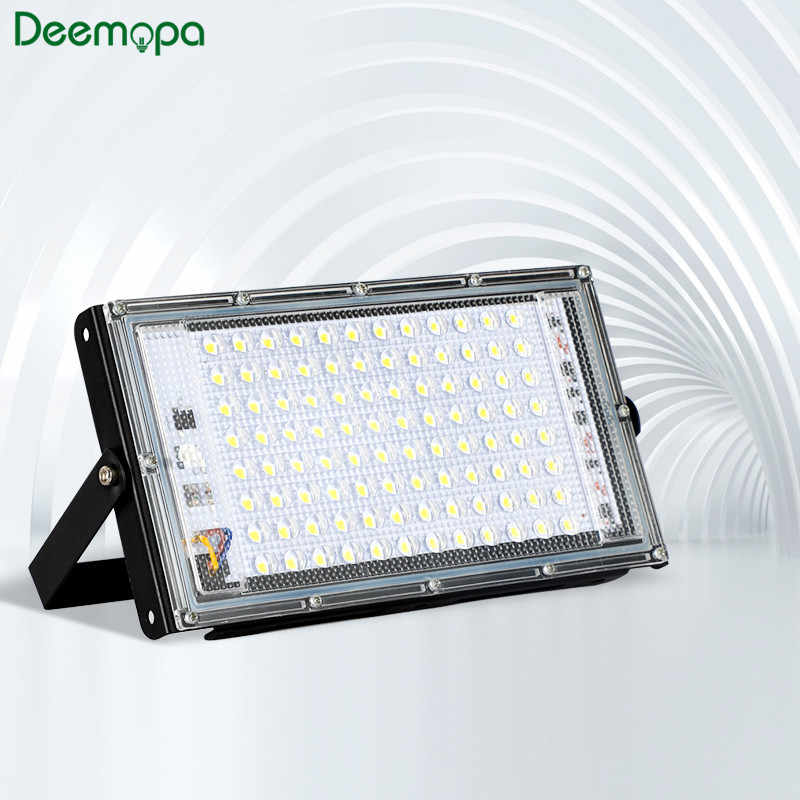 Led Flood Light 30W 50W 100W AC 220V 230V 240V Lampu Sorot Outdoor Spotlight IP65 tahan Air LED Lampu Jalan Landscape Lighting