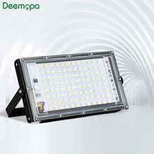 Led światło halogenowe 30W 50W 100W AC 220V 230V 240V zewnętrzny projektor oświetleniowy reflektor IP65 wodoodporna LED lampa uliczna oświetlenie krajobrazu