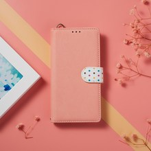 Leather Case For Honor 9X Premium 20S 10i 8X View 20 Pro 10 Lite Polka Dot Cute Flip Book Case Cover on For Huawei P30 Lite Pro
